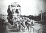 Goods transport in the 18th century