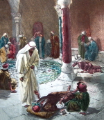 Healing of the infirm man at the pool of Bethesda