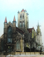 St Michael's Church in Ghent