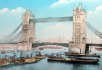 Opening of Tower Bridge